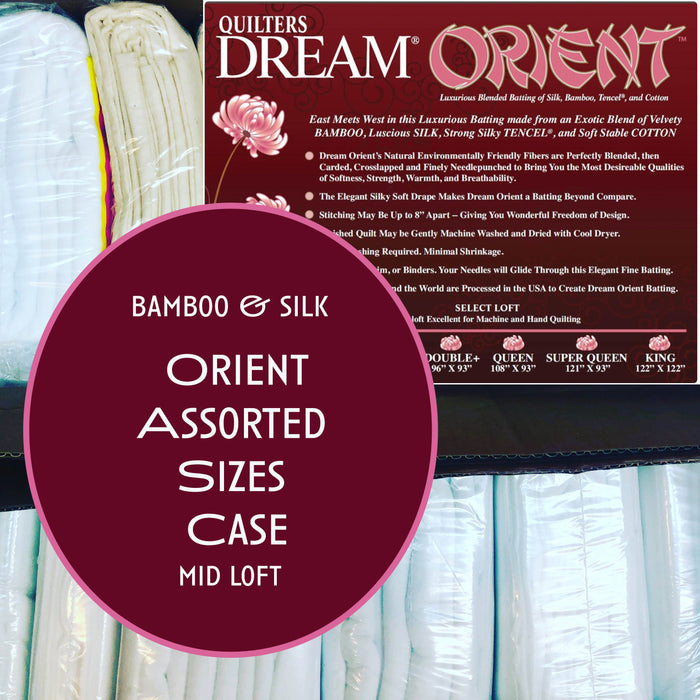 Dream Orient Bamboo & Silk Assorted Sizes Case - The Modern Quilting Company
