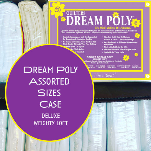 Dream Poly Deluxe (weighty loft) Assorted Sizes Case - The Modern Quilting Company