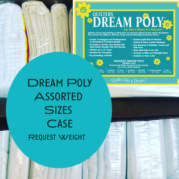 Dream Poly Request (thinnest weight) Assorted Sizes Case