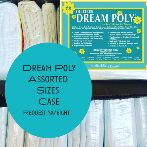 Dream Poly Request (thinnest weight) Assorted Sizes Case - The Modern Quilting Company