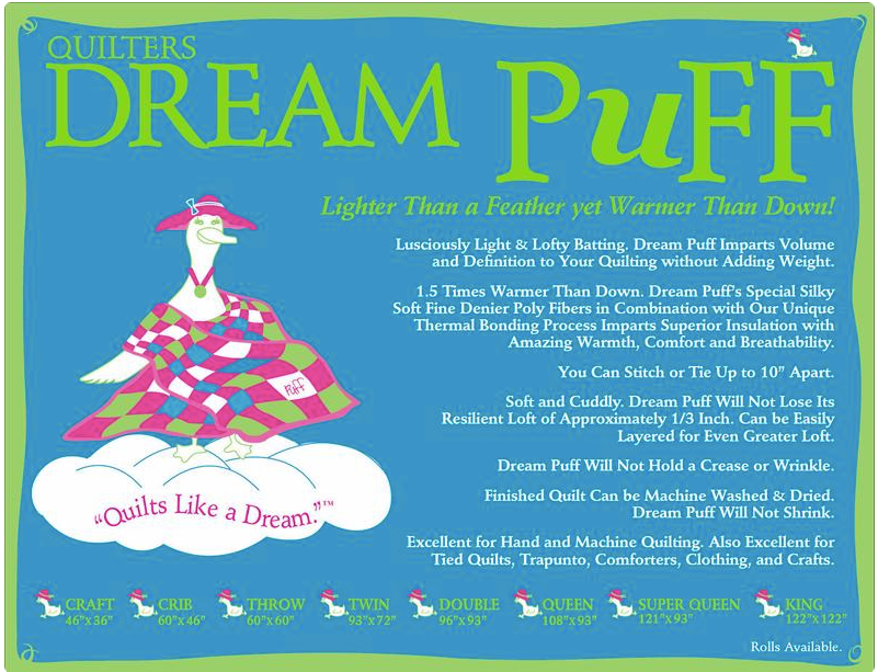 Dream Puff King Size Case 4 Pack - The Modern Quilting Company