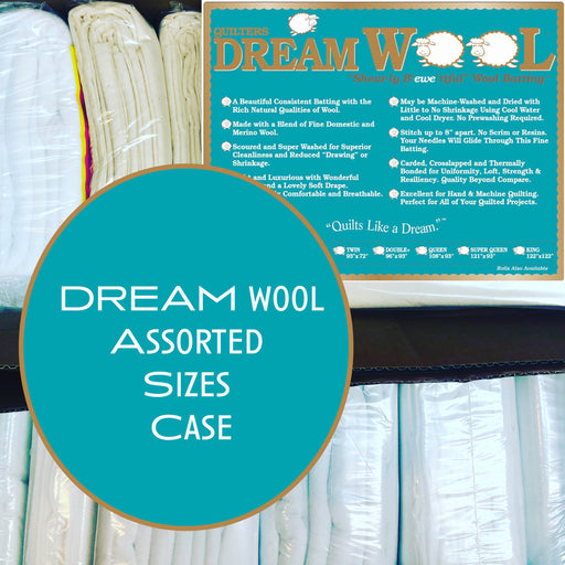 Dream Wool Assorted Sizes Case - The Modern Quilting Company