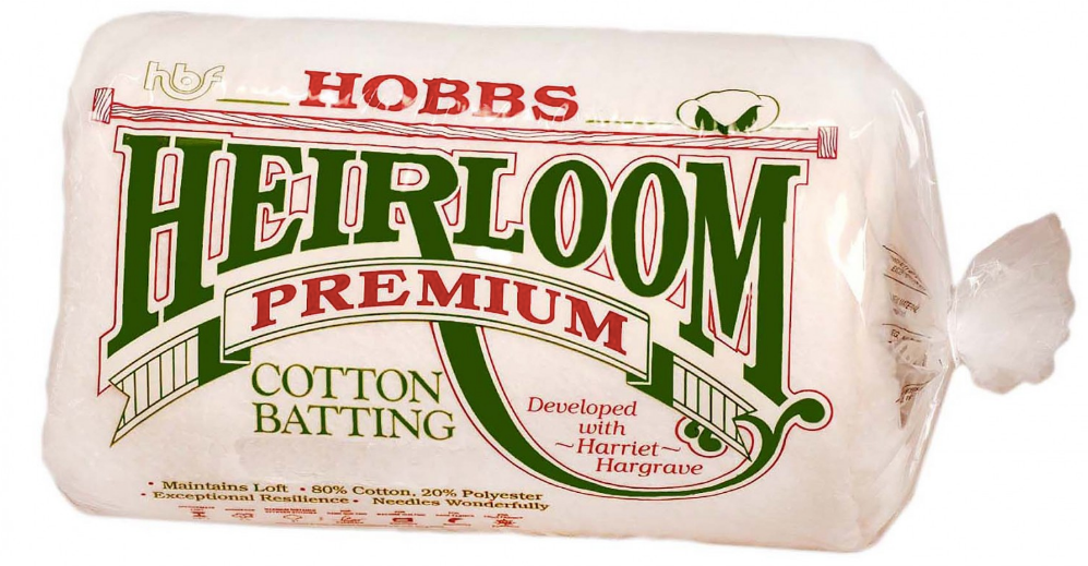 Batting Heirloom Premium Cotton Blend 90in x 108in - The Modern Quilting Company