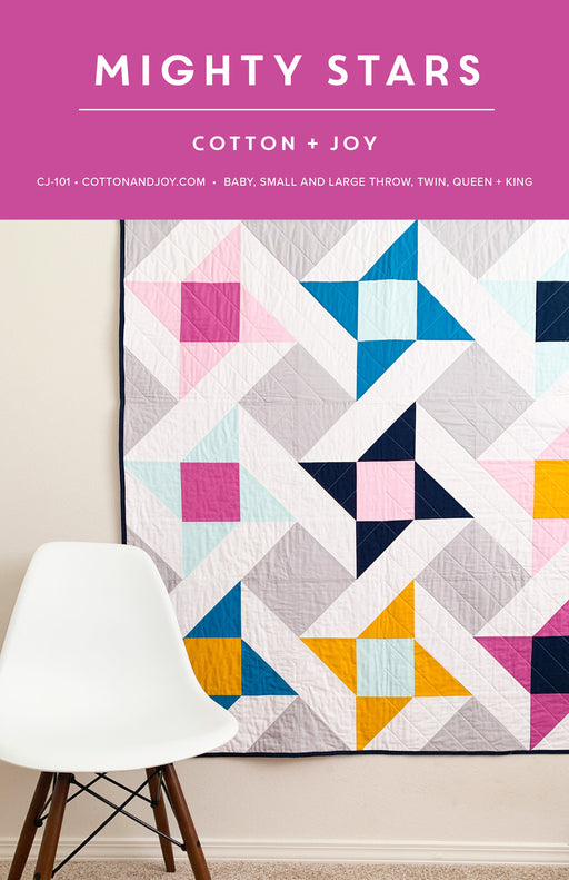 Mighty Stars by Cotton + Joy - The Modern Quilting Company