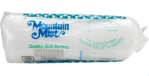 "Mountain Mist Polyester Quilt Batting Twin Size 72""X90"" Case of 12 - The Modern Quilting Company"
