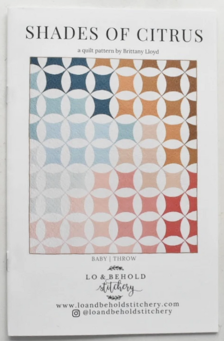 Shades of Citrus by Lo & Behold Stitchery - The Modern Quilting Company