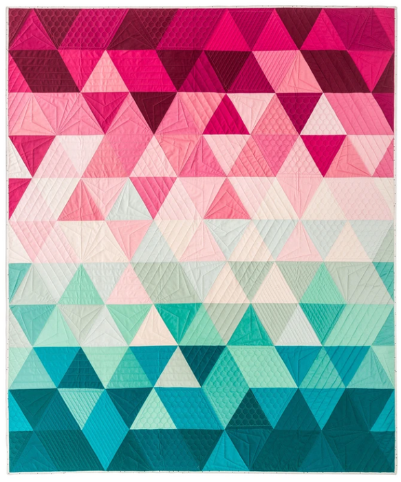 Triangle Fade - The Modern Quilting Company