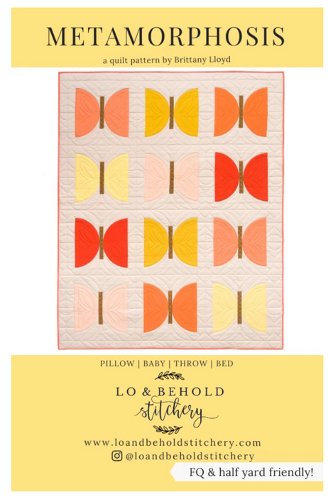 Metamorphosis - The Modern Quilting Company