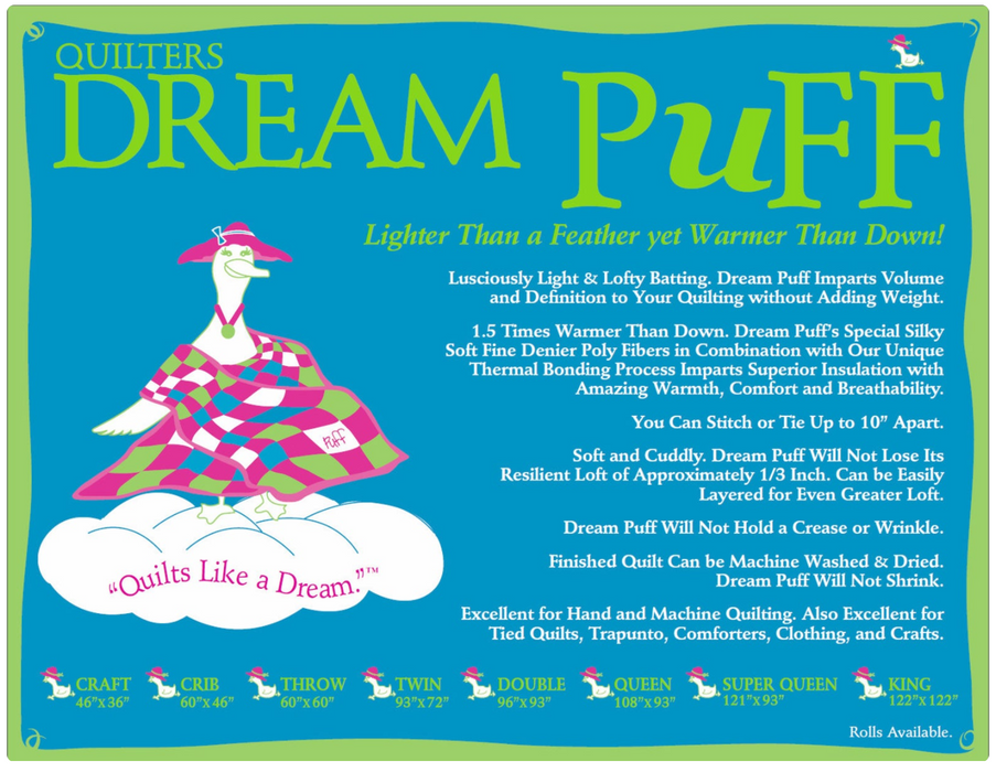 Dream Puff - The Modern Quilting Company