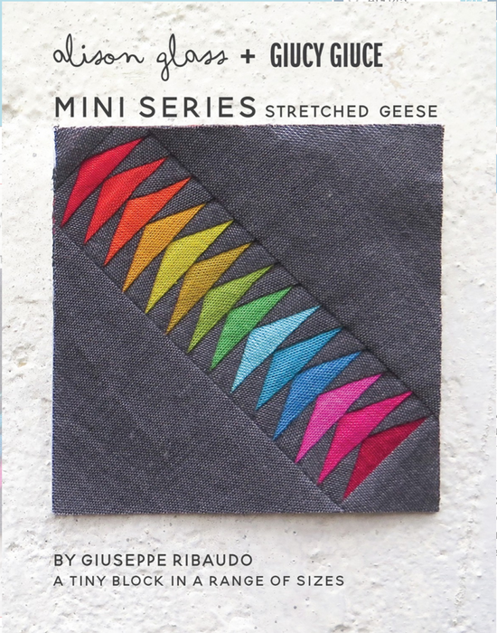 Mini Series Stretched Geese - The Modern Quilting Company