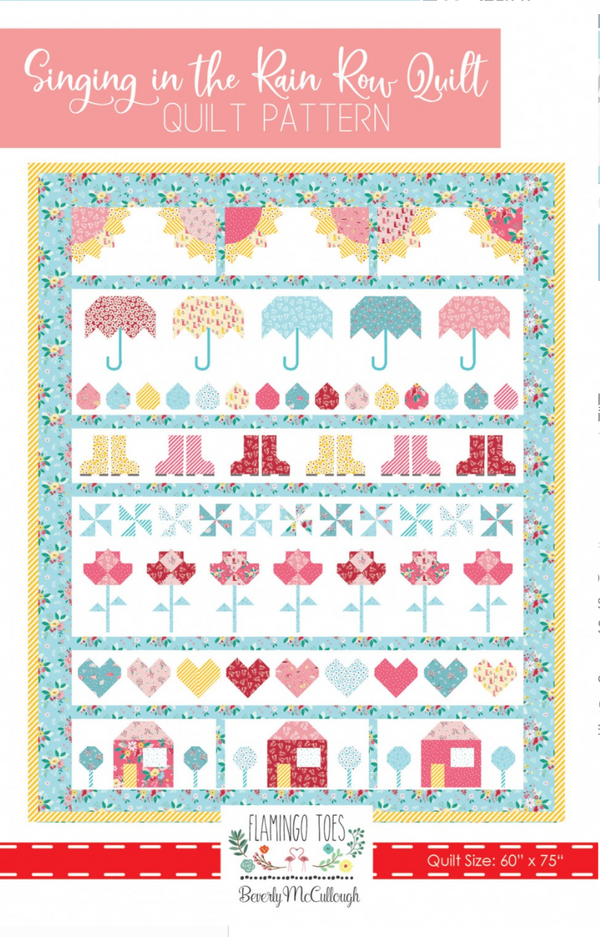 Singing in the Rain Row Quilt
