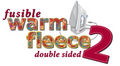 Fusible Warm Fleece 2 – 45″ x 1 Yard Pack