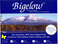Bigelow 100% Wool Batting 108in x 94in