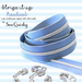 Stripe it Up Nautical Zipper by Sew Quirky - The Modern Quilting Company