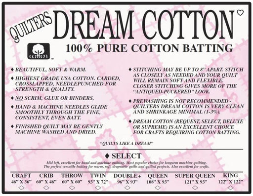 White Dream Cotton Select (MIDLOFT) - The Modern Quilting Company