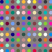 Many Colored Dots - Grey - The Modern Quilting Company