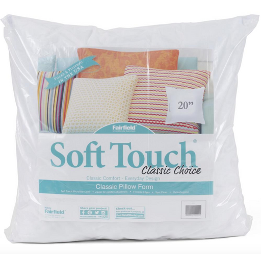 "Fairfield Soft Touch Down-Like Pillowform 18"" x 18"" - The Modern Quilting Company"