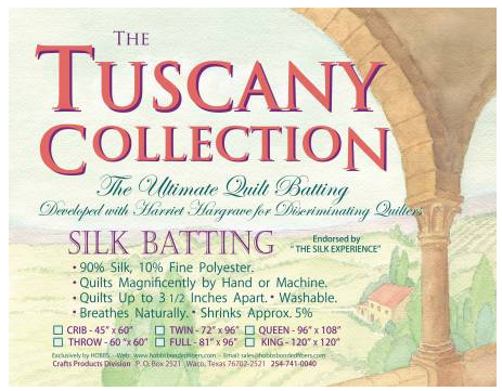 Tuscany Silk Polyester Blend 120in x 120in King - The Modern Quilting Company