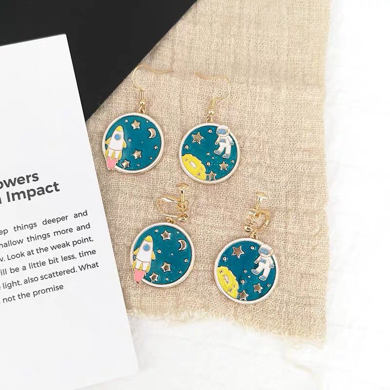Outer Space Earrings