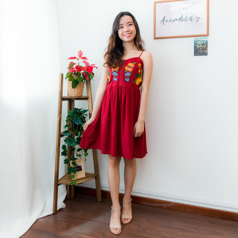 Priscilla Embroidered Dress