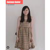 Bernadette Tartan Dress
