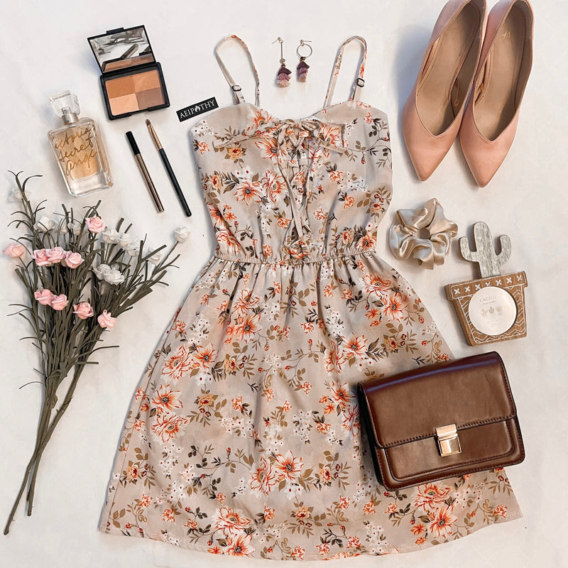 Hayley Floral Shoelace Dress