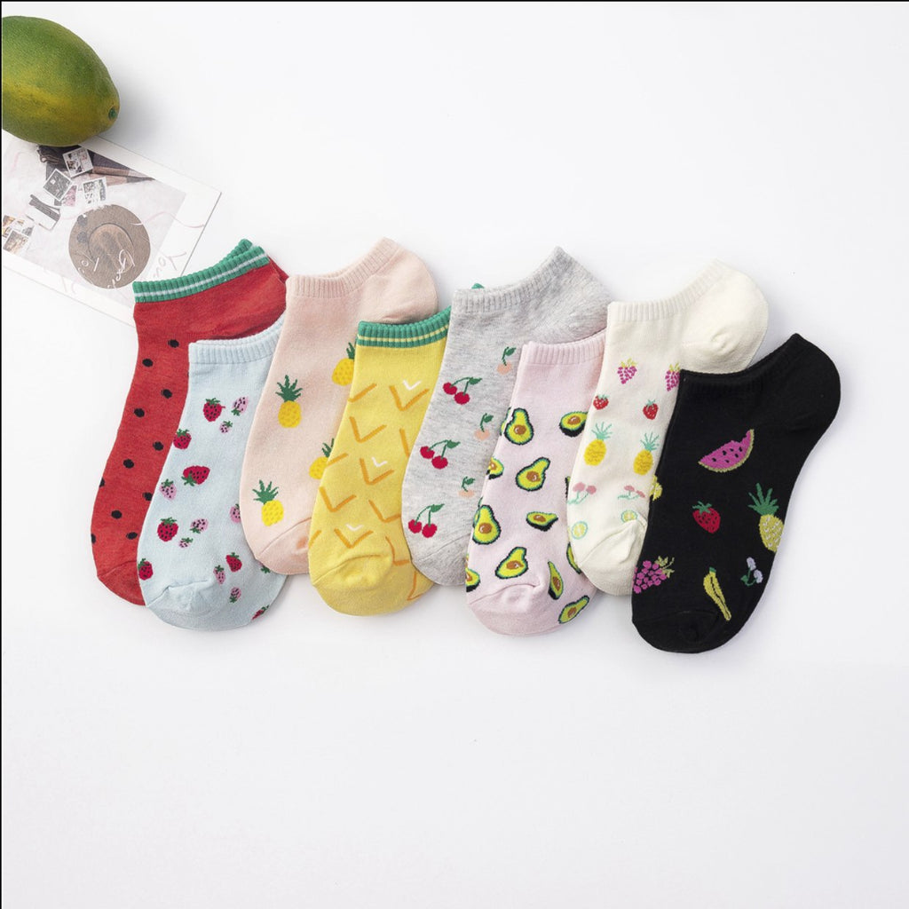 Fruit Ankle Socks