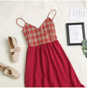 Kimberly Tartan Dress