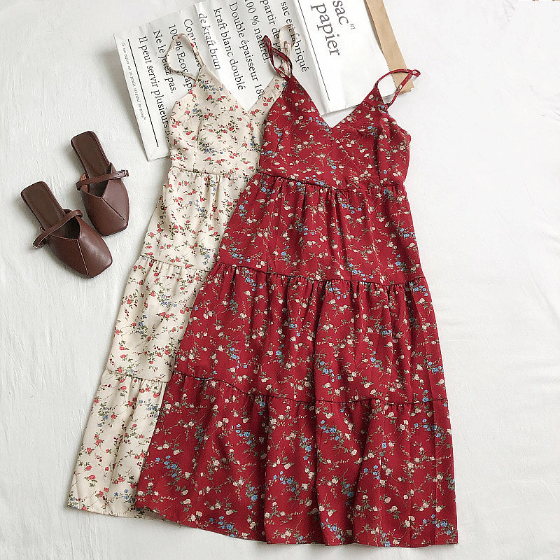 Charlotte Floral Tiered Dress