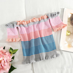 Stella Stripe Offsie Top