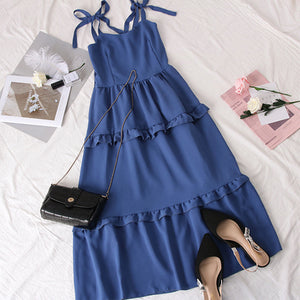 Clarissa Ribbon Midi Dress