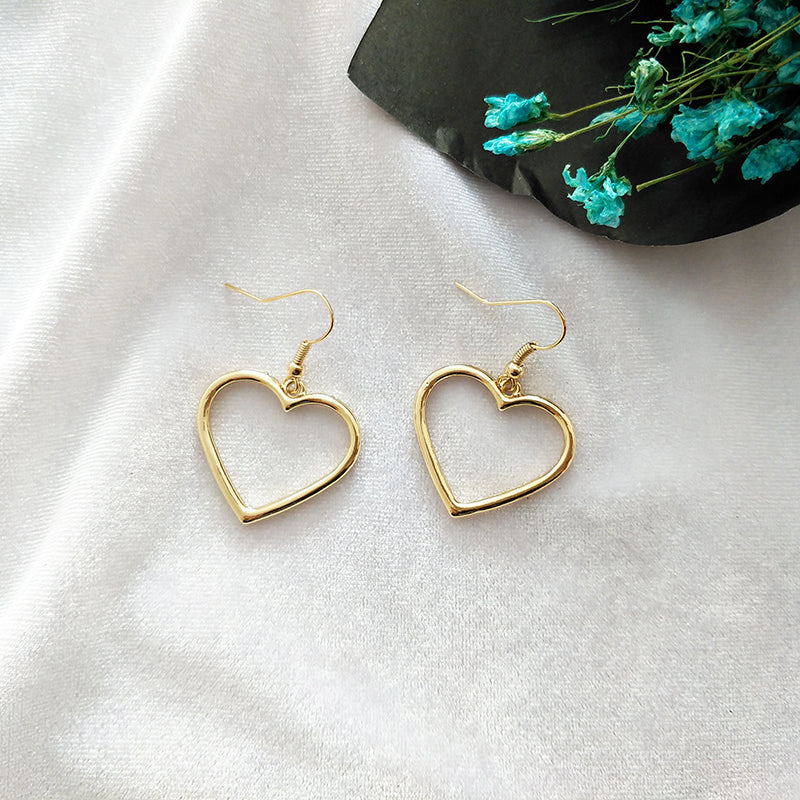 Basic Heart Earrings