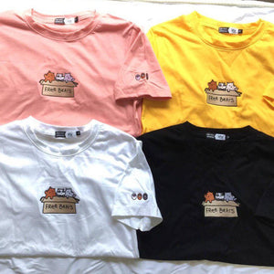Free Bears Embroidered Tee