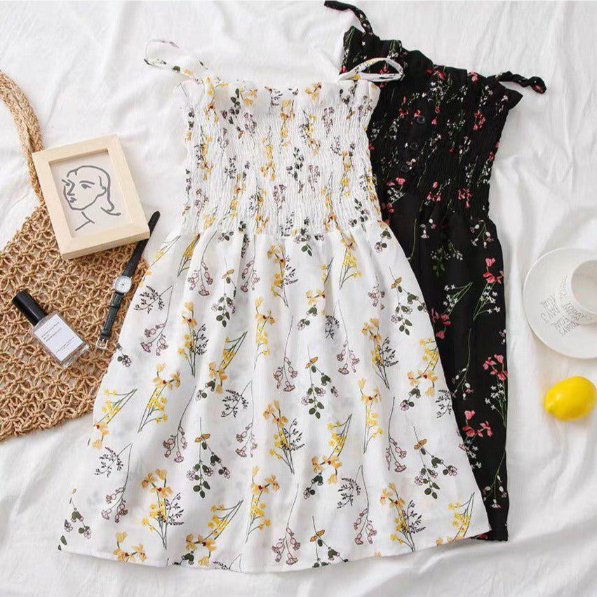 Keira Floral Romper Dress