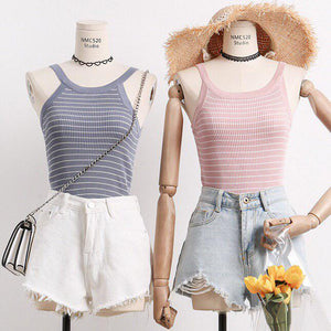 Kasey Knitted Halter Top