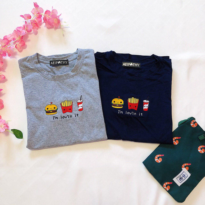 I'm Lovin It Embroidered Tee