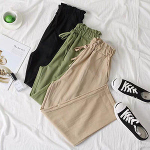 Jovianna Basic Drawstring Pants