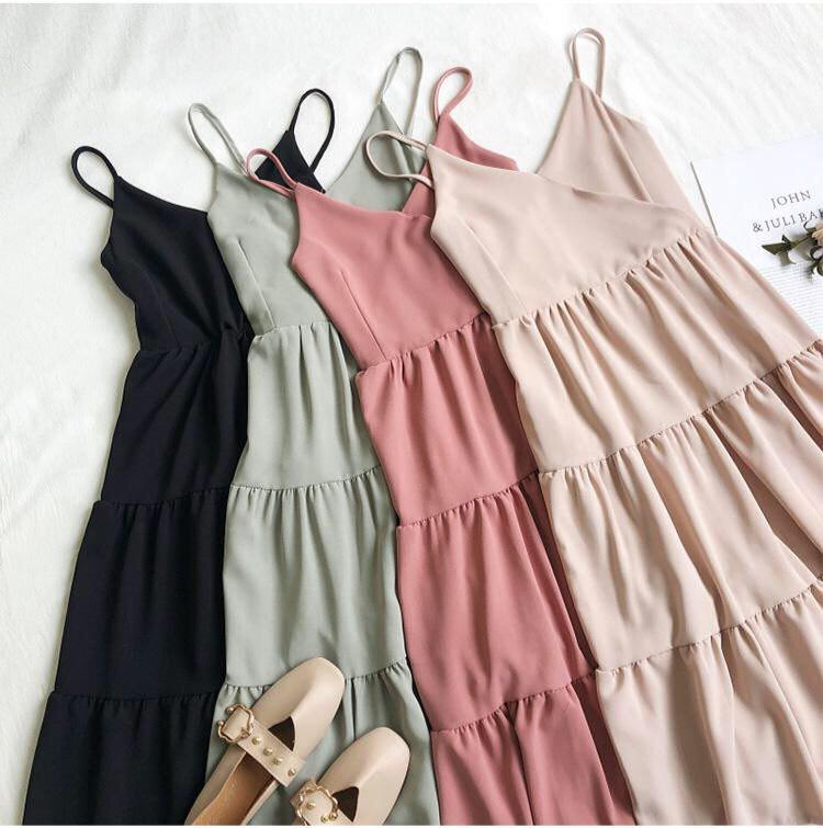 Charlotte Basic Tiered Dress