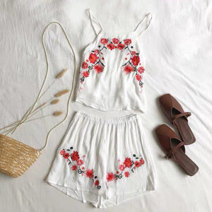 Rosette Two-Piece Set