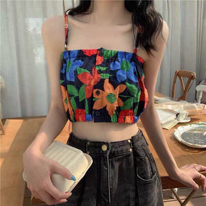 Floral Colorful Cami Top