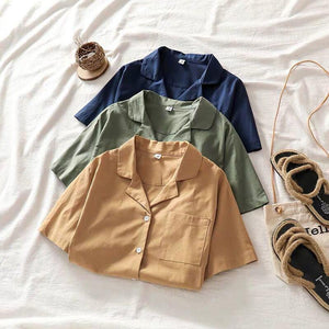 Riley Basic Collared Top