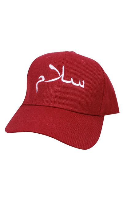Stylish and Modest Hijabi Cap-Red