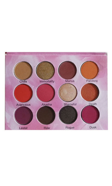 12 color eyeshadow palette - EastEssence.com