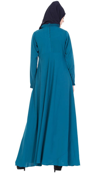 Fun and Frill abaya dress-Final sale_As Pictured_Alt_View