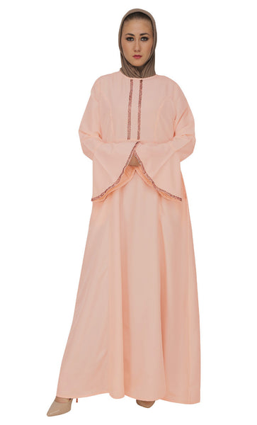 Katdana Handworked abaya dress
