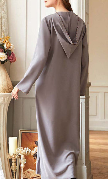 Elegant Diamond Stone Work  Abaya - *Size Up*