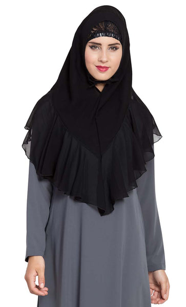 Ready to Wear- Instant Hijab Black - Final Sale