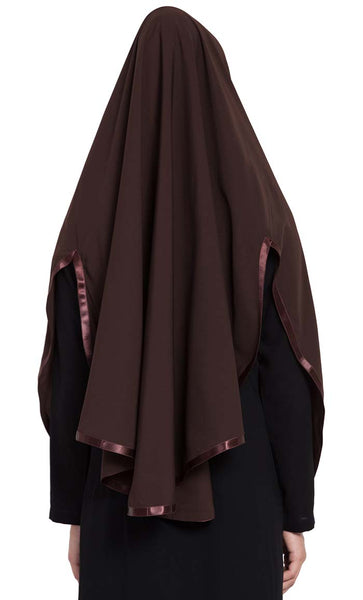Ready to Wear- Instant Hijab Brown - Final Sale