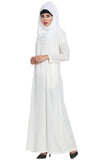Basic A line Abaya Dress-Finla sale