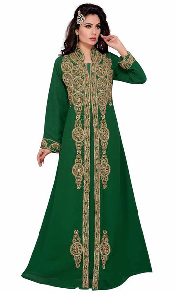Women's Muslim Abaya Islamic Long Arabic Caftan Clothing Jalabiya-final sale